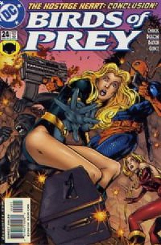 Cover of Birds of Prey (Vol 1) #24. One of 250,000 Vintage American Comics on sale from Krypton!