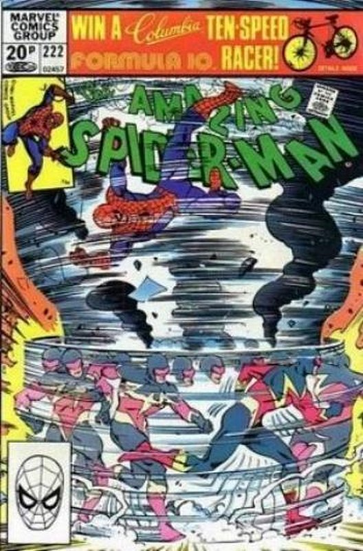 Cover of Amazing Spider-Man (Vol 1) #222. One of 250,000 Vintage American Comics on sale from Krypton!