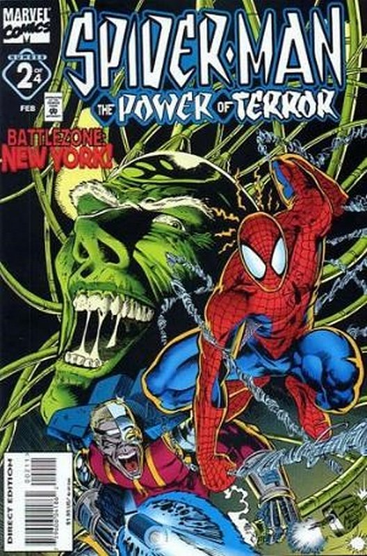 Cover of Spider-Man: Power of Terror (1995 Ltd) #2. One of 250,000 Vintage American Comics on sale from Krypton!