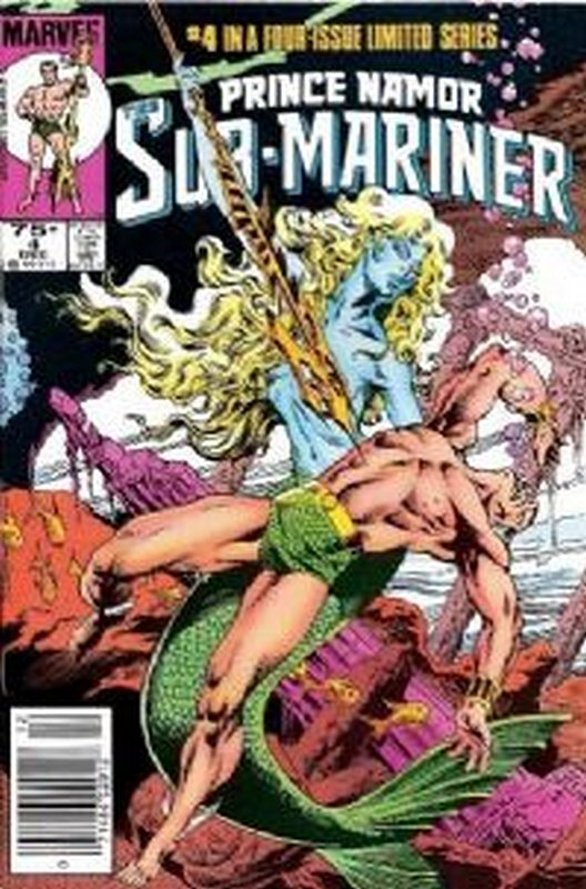 Cover of Sub-Mariner: Prince Namor The (1984 Ltd) #4. One of 250,000 Vintage American Comics on sale from Krypton!