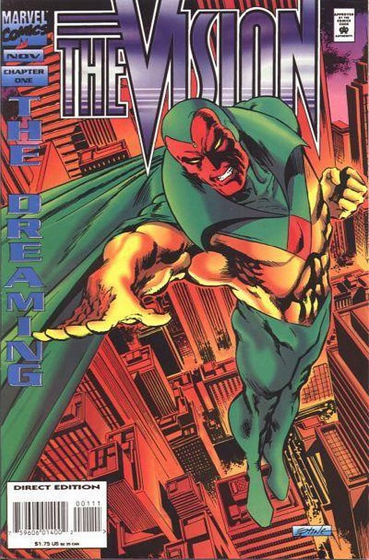 Cover of Vision (1994 Ltd) #1. One of 250,000 Vintage American Comics on sale from Krypton!