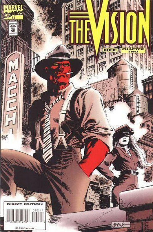Cover of Vision (1994 Ltd) #2. One of 250,000 Vintage American Comics on sale from Krypton!