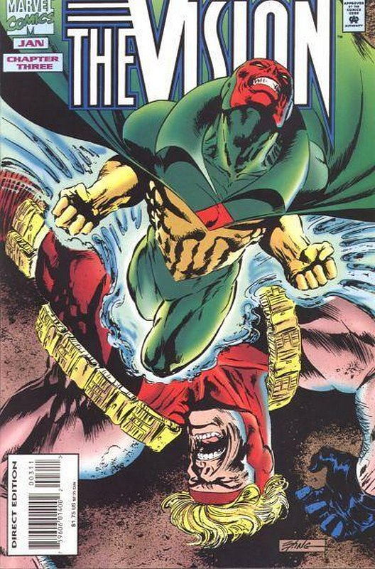 Cover of Vision (1994 Ltd) #3. One of 250,000 Vintage American Comics on sale from Krypton!
