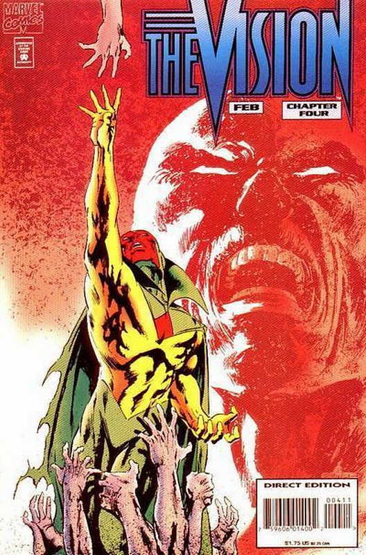 Cover of Vision (1994 Ltd) #4. One of 250,000 Vintage American Comics on sale from Krypton!