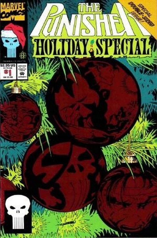 Cover of Punisher Holiday Special #1. One of 250,000 Vintage American Comics on sale from Krypton!