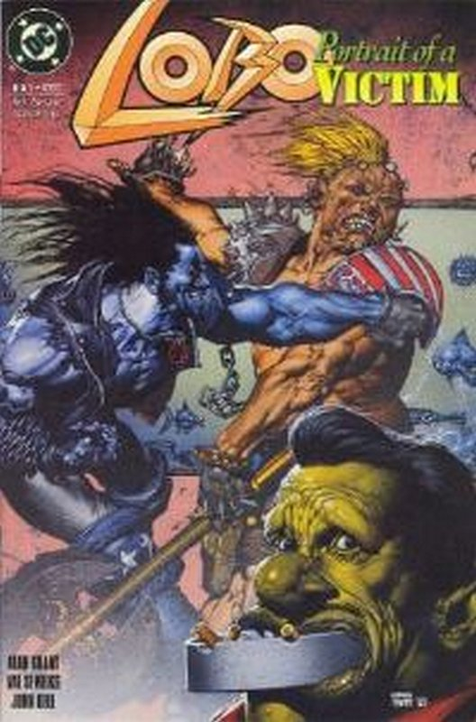 Cover of Lobo: Portrait of a Victim (1993 One Shot) #1. One of 250,000 Vintage American Comics on sale from Krypton!