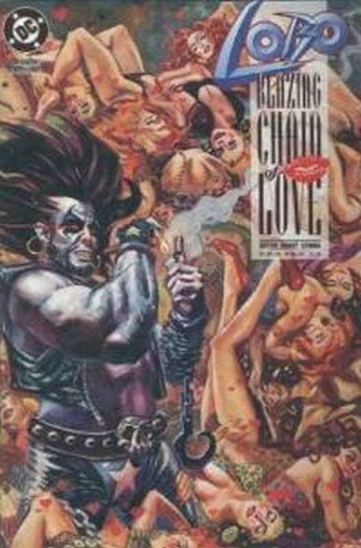 Cover of Lobo: Blazing Chain of Love (1992 One Shot) #1. One of 250,000 Vintage American Comics on sale from Krypton!
