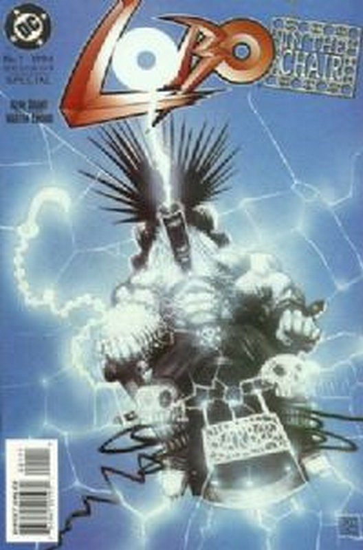 Cover of Lobo: In the Chair (1994 One Shot) #1. One of 250,000 Vintage American Comics on sale from Krypton!