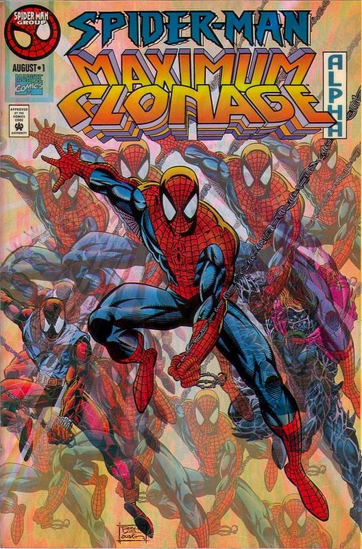 Cover of Spider-Man: Maximum Clonage Alpha #1. One of 250,000 Vintage American Comics on sale from Krypton!