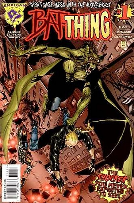 Cover of Bat-Thing (1997 One Shot) #1. One of 250,000 Vintage American Comics on sale from Krypton!