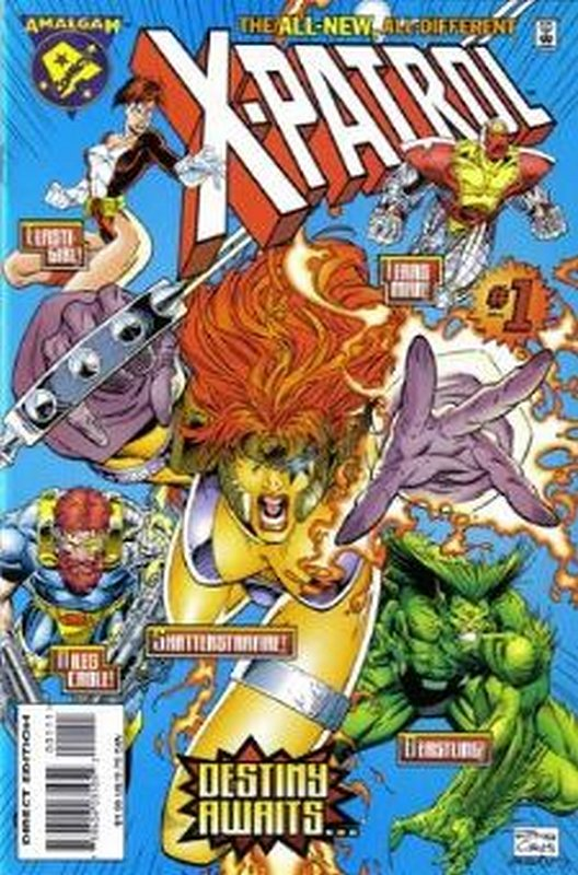 Cover of X-Patrol: All New All Different (1996 One Shot) #1. One of 250,000 Vintage American Comics on sale from Krypton!