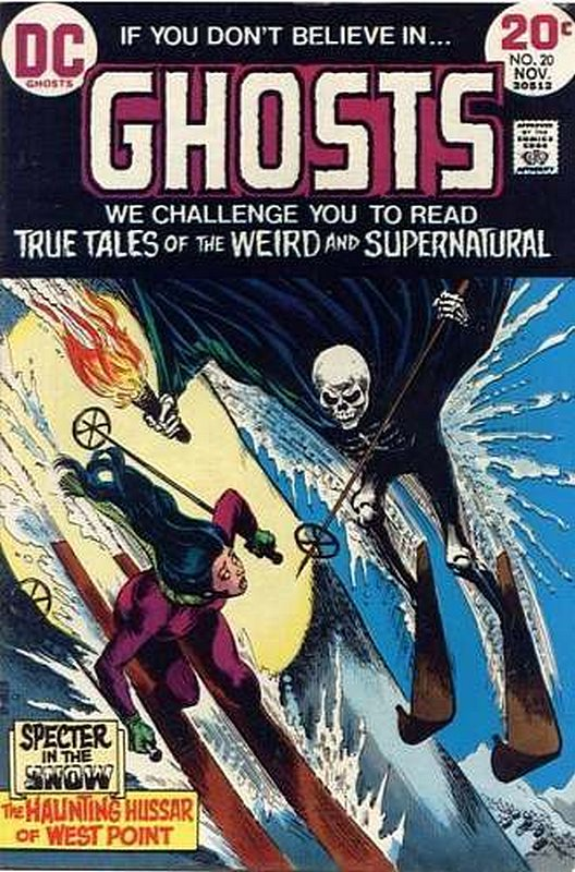 Cover of Ghosts (Vol 1) #20. One of 250,000 Vintage American Comics on sale from Krypton!