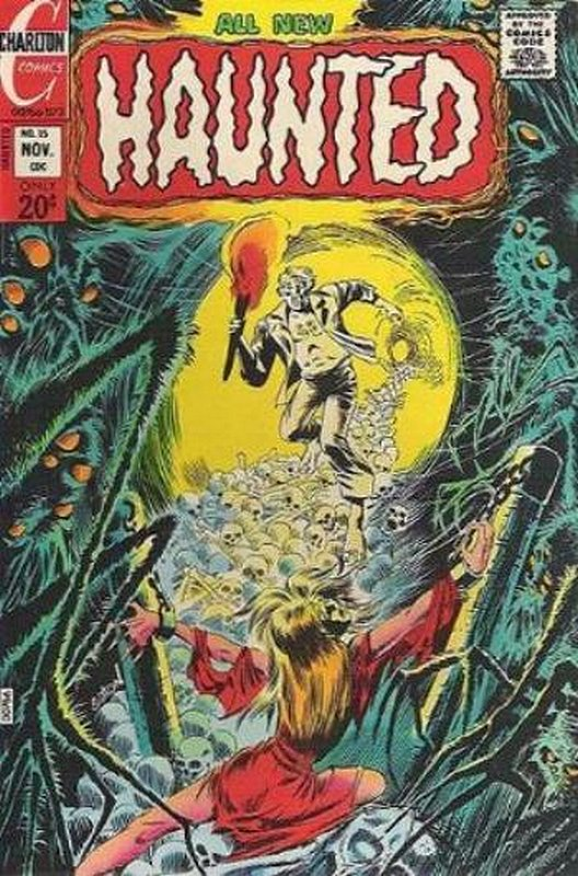 Cover of Haunted (Vol 1) #15. One of 250,000 Vintage American Comics on sale from Krypton!
