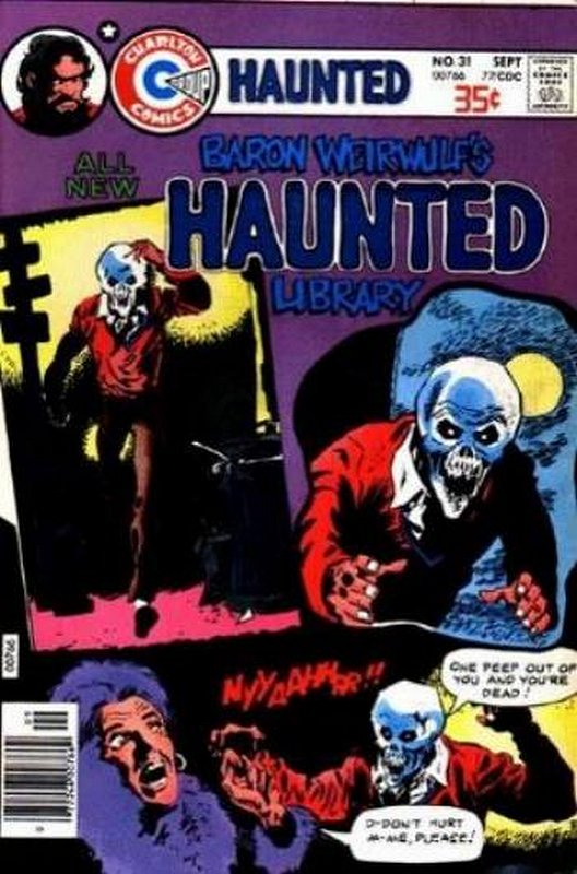 Cover of Haunted (Vol 1) #31. One of 250,000 Vintage American Comics on sale from Krypton!