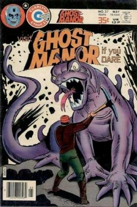 Cover of Ghost Manor (Vol 2) #37. One of 250,000 Vintage American Comics on sale from Krypton!