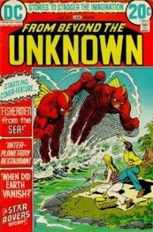 Cover of From Beyond the Unknown (Vol 1) #20. One of 250,000 Vintage American Comics on sale from Krypton!