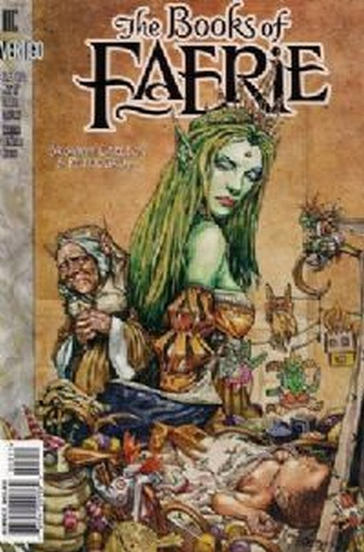 Cover of Books of Faerie  (1997 Ltd) #3. One of 250,000 Vintage American Comics on sale from Krypton!