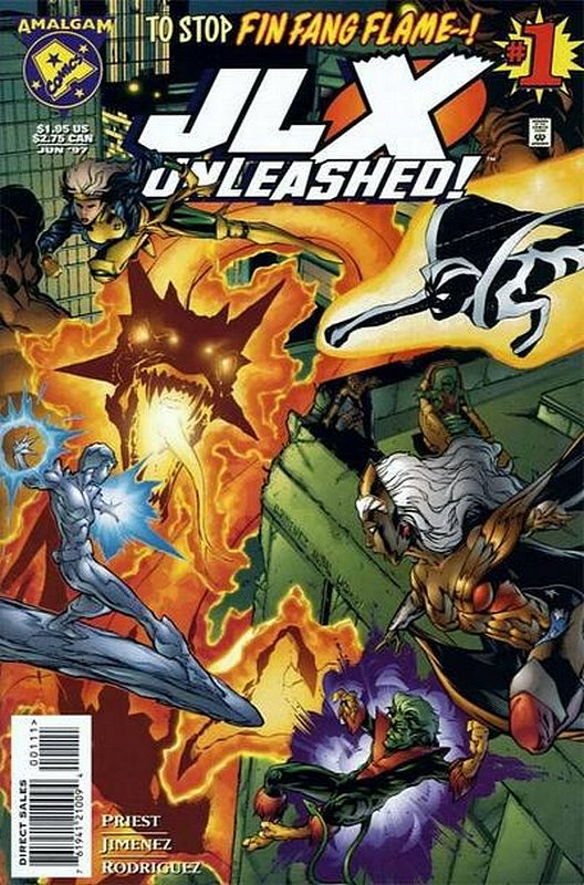 Cover of JLX Unleashed! (1997 One Shot) #1. One of 250,000 Vintage American Comics on sale from Krypton!