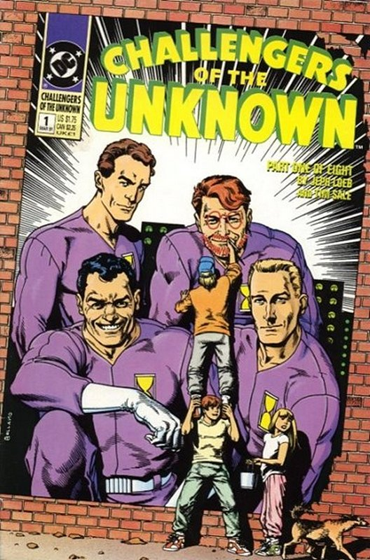 Cover of Challengers of the Unknown (Ltd 1991) #1. One of 250,000 Vintage American Comics on sale from Krypton!