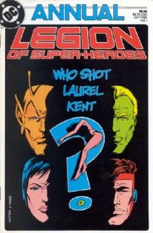 Cover of Legion of Super-Heroes Annual (Vol 2) #1. One of 250,000 Vintage American Comics on sale from Krypton!