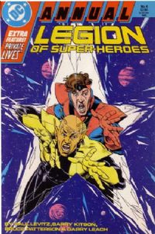 Cover of Legion of Super-Heroes Annual (Vol 2) #4. One of 250,000 Vintage American Comics on sale from Krypton!