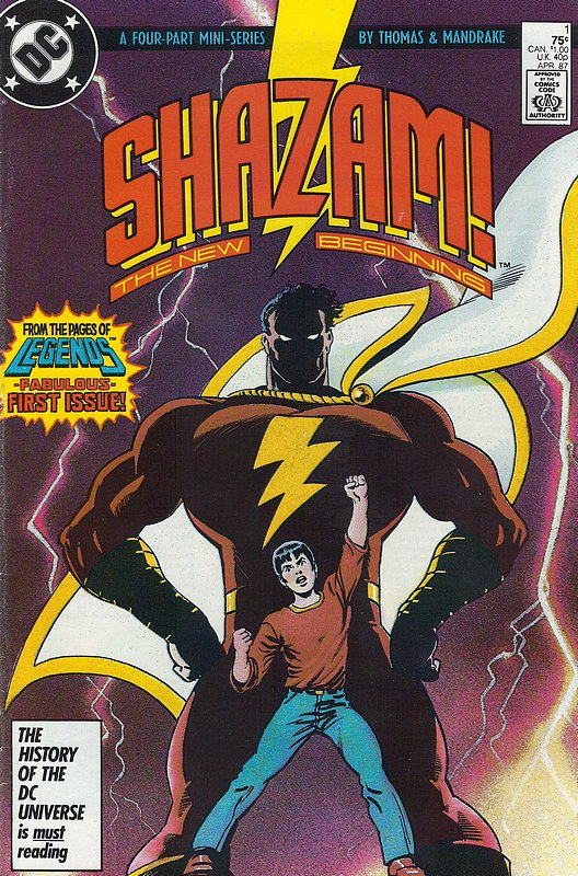 Cover of Shazam! The New Beginning (1987 Ltd) #1. One of 250,000 Vintage American Comics on sale from Krypton!