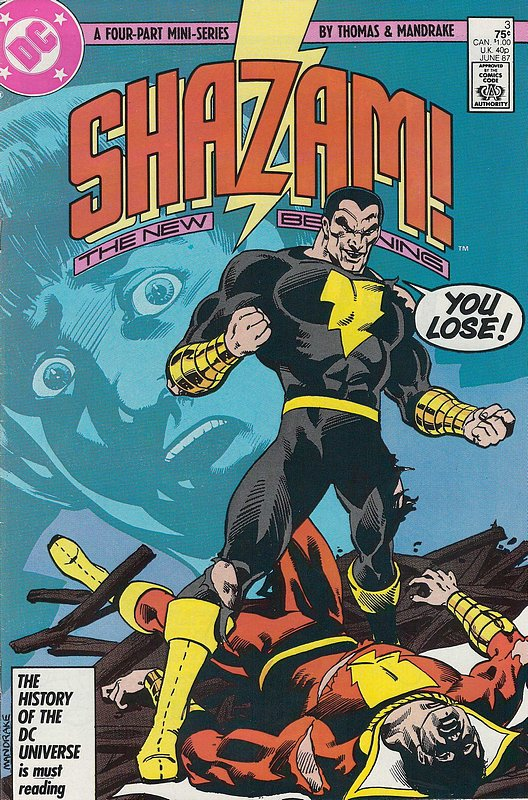 Cover of Shazam! The New Beginning (1987 Ltd) #3. One of 250,000 Vintage American Comics on sale from Krypton!