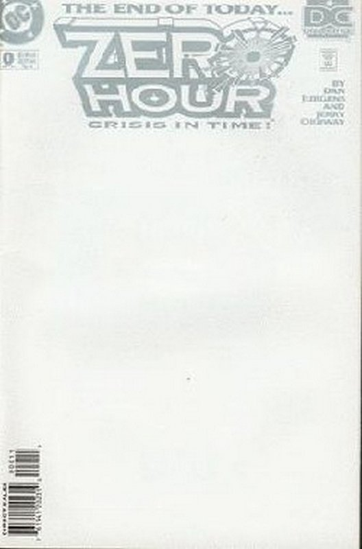 Cover of Zero Hour (1994 Ltd) #0. One of 250,000 Vintage American Comics on sale from Krypton!