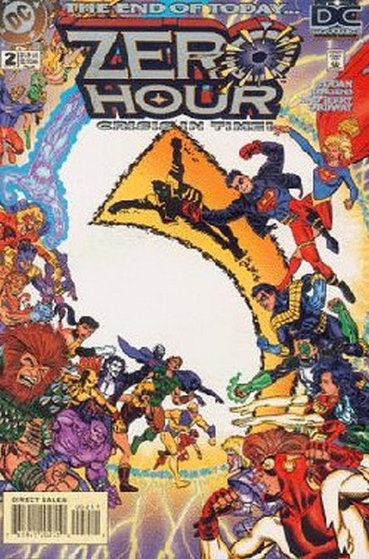 Cover of Zero Hour (1994 Ltd) #2. One of 250,000 Vintage American Comics on sale from Krypton!