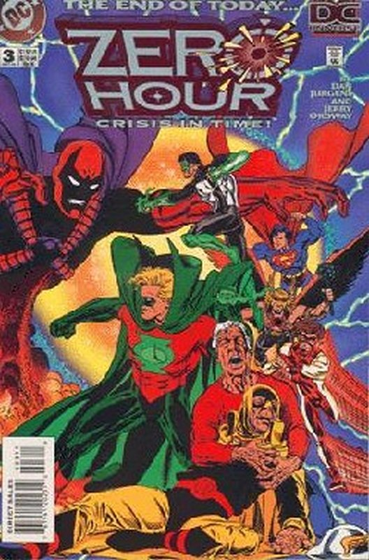 Cover of Zero Hour (1994 Ltd) #3. One of 250,000 Vintage American Comics on sale from Krypton!