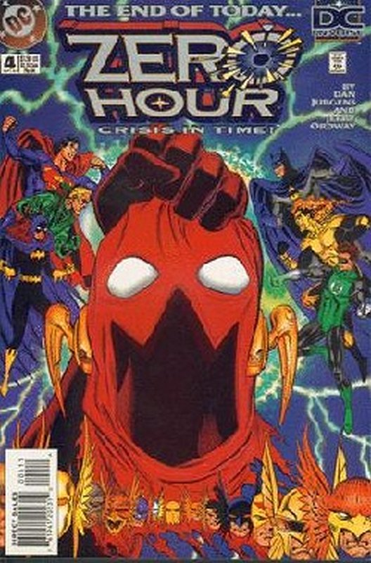 Cover of Zero Hour (1994 Ltd) #4. One of 250,000 Vintage American Comics on sale from Krypton!