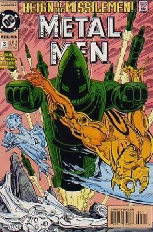 Cover of Metal Men (1994 Ltd) #3. One of 250,000 Vintage American Comics on sale from Krypton!