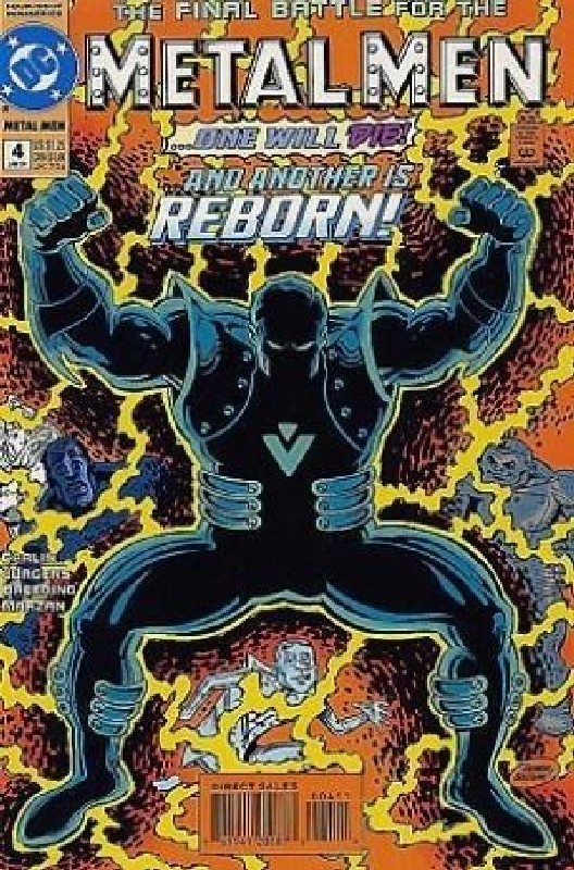 Cover of Metal Men (1994 Ltd) #4. One of 250,000 Vintage American Comics on sale from Krypton!