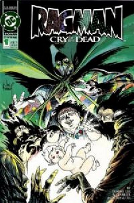 Cover of Ragman: Cry of the Dead (1993 Ltd) #1. One of 250,000 Vintage American Comics on sale from Krypton!