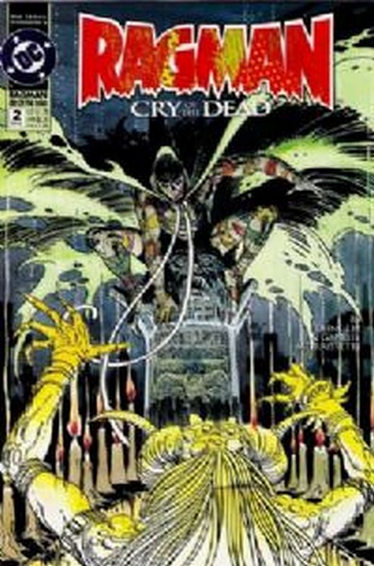 Cover of Ragman: Cry of the Dead (1993 Ltd) #2. One of 250,000 Vintage American Comics on sale from Krypton!