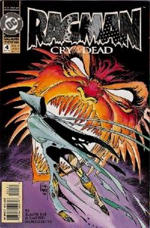 Cover of Ragman: Cry of the Dead (1993 Ltd) #4. One of 250,000 Vintage American Comics on sale from Krypton!