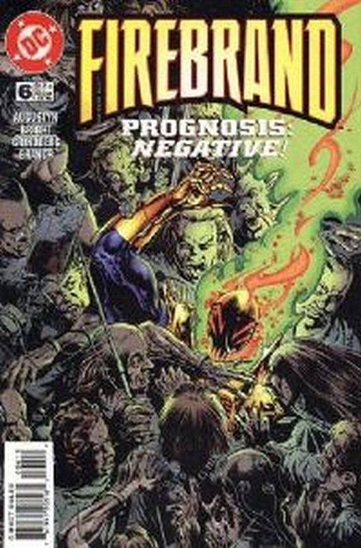 Cover of Firebrand (Vol 1) #6. One of 250,000 Vintage American Comics on sale from Krypton!