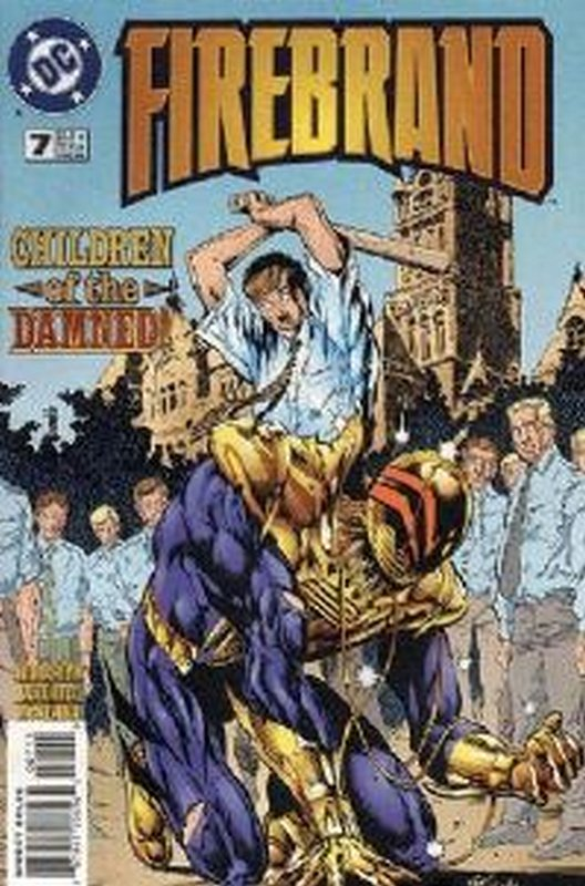 Cover of Firebrand (Vol 1) #7. One of 250,000 Vintage American Comics on sale from Krypton!