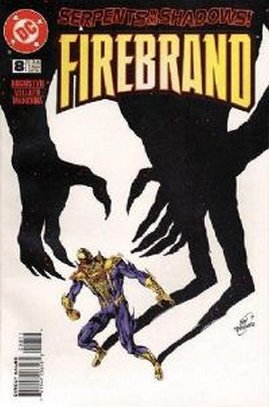 Cover of Firebrand (Vol 1) #8. One of 250,000 Vintage American Comics on sale from Krypton!