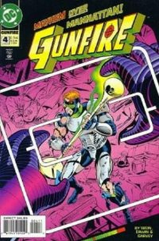 Cover of Gunfire (Vol 1) #4. One of 250,000 Vintage American Comics on sale from Krypton!