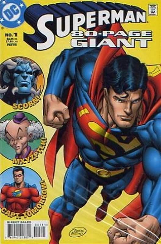 Cover of Superman 80 Page Giant (1998 Ltd) #1. One of 250,000 Vintage American Comics on sale from Krypton!