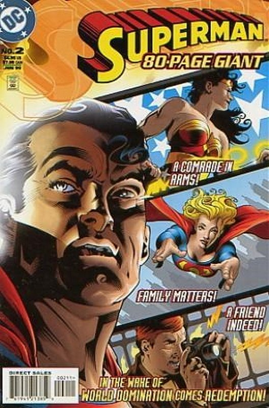 Cover of Superman 80 Page Giant (1998 Ltd) #2. One of 250,000 Vintage American Comics on sale from Krypton!