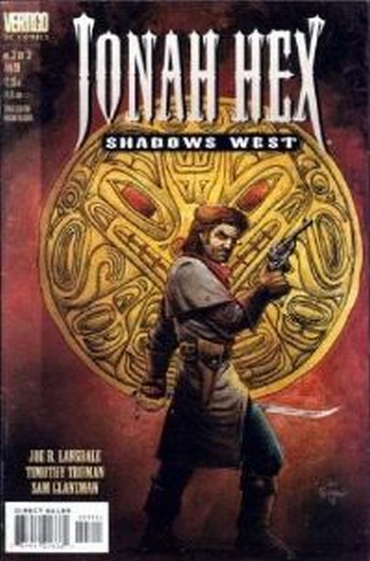 Cover of Jonah Hex Shadows West #3. One of 250,000 Vintage American Comics on sale from Krypton!
