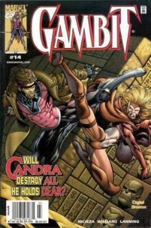 Cover of Gambit (Vol 1) #14. One of 250,000 Vintage American Comics on sale from Krypton!