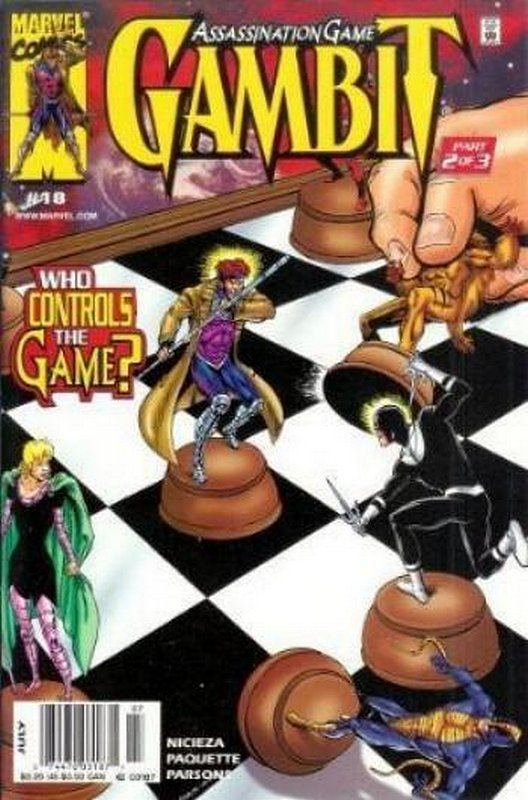 Cover of Gambit (Vol 1) #18. One of 250,000 Vintage American Comics on sale from Krypton!