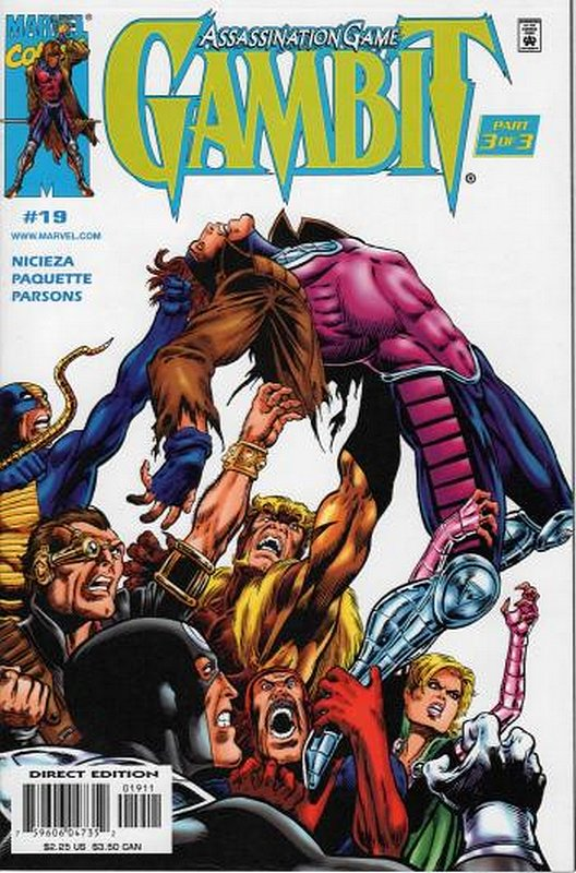 Cover of Gambit (Vol 1) #19. One of 250,000 Vintage American Comics on sale from Krypton!