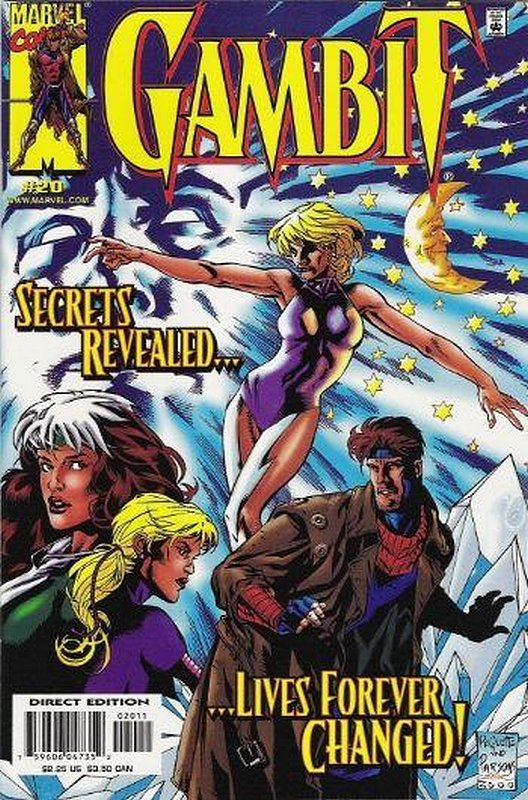Cover of Gambit (Vol 1) #20. One of 250,000 Vintage American Comics on sale from Krypton!