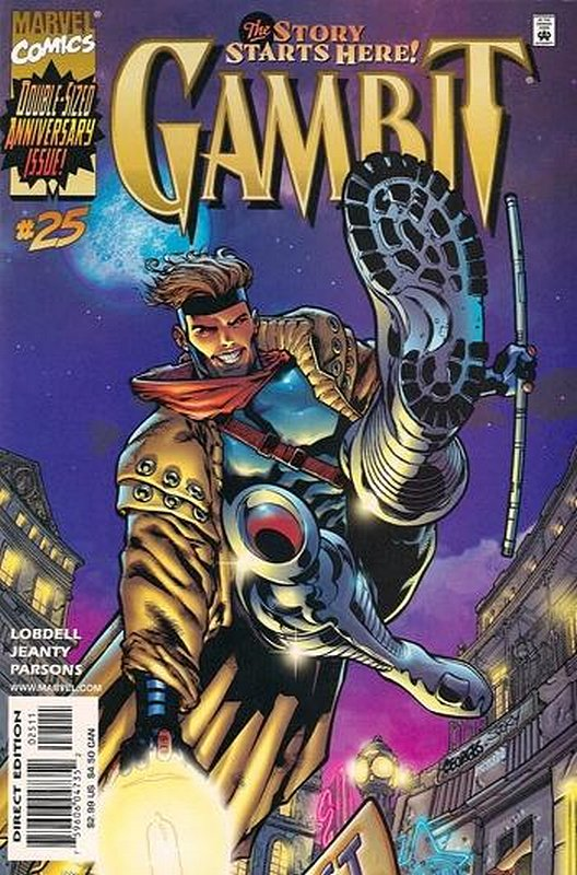 Cover of Gambit (Vol 1) #25. One of 250,000 Vintage American Comics on sale from Krypton!