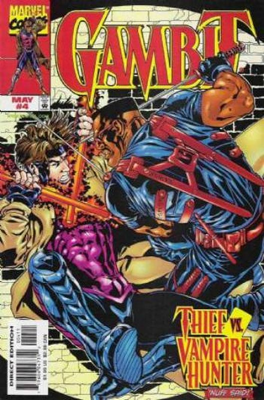 Cover of Gambit (Vol 1) #4. One of 250,000 Vintage American Comics on sale from Krypton!