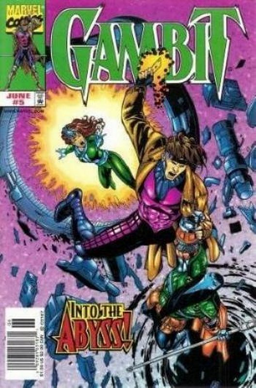 Cover of Gambit (Vol 1) #5. One of 250,000 Vintage American Comics on sale from Krypton!